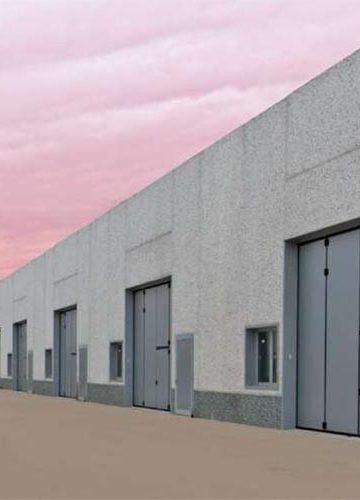 Индустриални сгъваеми врати