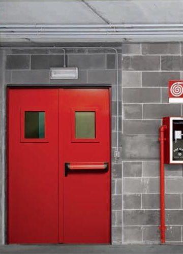 Пожароустойчиви Стоманени врати
